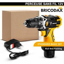 Perceuse Visseuse Sans Fil Banger 12 Volts