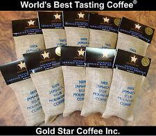 10 lbs Wallenford Estate DARK ROAST Jamaica Jamaican Blue Mountain Coffee