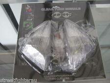 CLEAR ALTERNATIVES Clear Turn Signal Lenses Kawasaki 05-06 ZX6R/636 CTS-0048