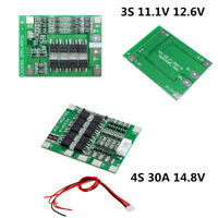 18650 11.1V 12.6V 25A 3S Li-ion Lithium Battery BMS PCB Protection Board Balance