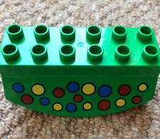 Lego Duplo Rocker Rocking Green Spotted Ball Rail Marble Run Part 31453