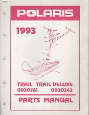 1993 Polaris Snowmobile Trail, Trail Deluxe Parts Manual 9912322 (139)