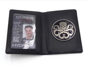 Grand Ward Marvel's Agents of S.H.I.E.L.D. SHIELD Hydra Badge Holder ID Card