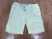 ABERCROMBIE MEN'S DESTROYED COTTON BUTTONED FLY CARGO SHORTS SIZE 34