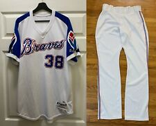 Anthony Swarzak 2019 Game Used Braves Uniform Jersey Pants Size 46 Mlb Hologram