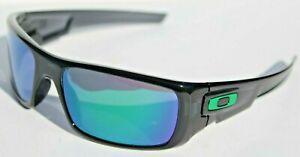 OAKLEY Crankshaft Sunglasses Black Ink/Jade Green Iridium OO9239-02 NEW