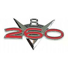 "Fender Emblem ""260""-63 Falcon, 62-63 Fairlane."