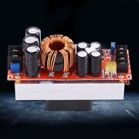 1500W 30A DC Boost Converter Step-up Power Supply Module Input10~60V Out 12~90V