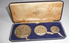 Set John Pinches Silver Medallions Investiture Caernarvon Prince Wales 1969