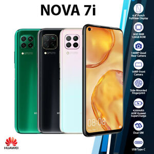 (New & Unlocked) Huawei Nova 7i Black Pink Green 8GB+128GB Android Mobile Phone