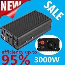 3000W/4000 Watt Peak Power Inverter DC 12V to AC 110V for Car Truck RV Pickup Q9