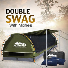Weisshorn Double Camping Swags Dome Tent Wing - CELADON