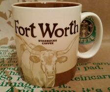 Starbucks Coffee Mug/Tasse/Becher FORT WORTH, Global Icon Serie, NEU&unbenutzt!!