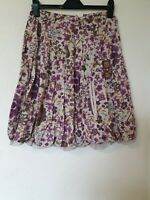 Sandwich Floral Gypsy Prairie Floral Skirt Size 36
