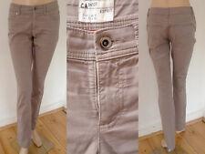 Esprit Hose Damen Jeans Regular Chino Pant Casual Style Stretch hellbraun 34 1A