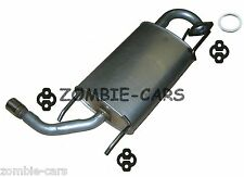 MAZDA MX-5 MK2 (NB) EXHAUST REAR SILENCER INC GASKET AND HANGERS 100% QUALITY