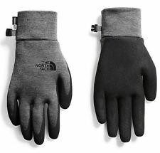 The North Face Glove Pair Set ETIP GRIP Size S/M/L Sport Dark Grey Heather NEW