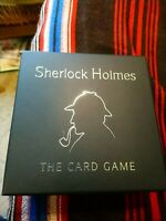 GIBSONS GAMES SHERLOCK HOLMES THE CARD GAME. GAME IS COMPLETE.