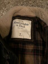 Abercrombie And Fitch Medium Men Leather Jacket