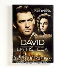 David and Bathsheba DVD New Gregory Peck Susan Hayward Raymond Massey