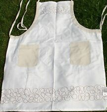 """Lovely Quality Aprons, Deco Beige, 24"""" x 31"""", Polyester Reduced To Clear"""