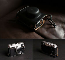 Genuine real Leather Full Camera Case bag for FUJIFILM X100 X100S BLACK