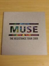 MUSE-THE RESISTANCE-2009 ORIG.UK TOUR PROGRAMME+POSTCARDS+STICKERS-M/NEW