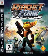 Ps3 PlayStation 3 Ratchet & Clank Tools of Destruction Platinum PAL UK VGC