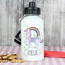 Ragazze Bambini Personalizzata Nome Bottiglia D'Acqua Bevande Succo-denominato Back to School
