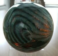 Large Hand Blown Art Glass Paperweight Signed Taylor Backes 2005 Ltd Ed 1/26