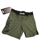 Jaco Mma Fighter Short -36� Resurgence Olive - Size 36�- New