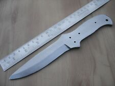 "8.50"" custom made big design hunting spring steel (5160) knife blank blade"