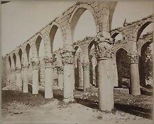 Baalbeck Liban Lebanon Photo Bonfils Vintage albumen ca 1870