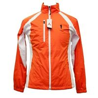 ANTIGUA TOUGH MUDDER COURSE RENDITION WOMENS GEAR ZIP UP ORANGE SWEAT JACKET T49
