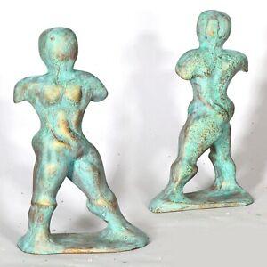 "Art sculpture  ""David"" 25cm unique piece Andreas Loeschner-Gornau"