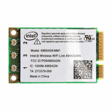 Intel Wireless WiFi Link 4965AGN a/b/g/n 300Mbps Dual Band MIMO Mini PCI-E Card