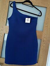Womens cobalt blue.True decadence Petite. One Shoulder Bodycon Dress