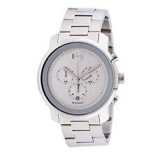 Reloj De Cuarzo Movado 3600276 Para hombres De Plata Negrita