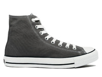 Converse Unisex Chuck Taylor All Star Hi Top Sneaker, Charcoal
