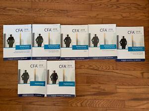 Schweser Books CFA Program Level 2 2018, Book 1 - 5 + Practice Exam