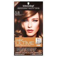 Schwarzkopf Color ULTÎME Permanent Hair Color, # 5.8 Hazelnut Brown