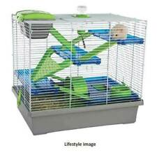 Hamster Cage Extra Large Four Levels Feel More Secure Keeps Litter Inside