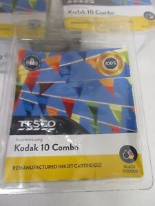 Remanufactured Ink 5 Packs Kodak 10 Ink New and Sealed