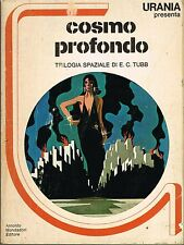 E.C.Tubb - Cosmo Profondo, trilogia spaziale - Mondadori Urania 1978