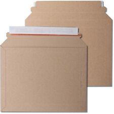 200 Vollpappe Versandtaschen - Buch Verpackung frustfrei - 235mm x 180mm - A5