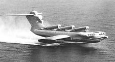Lun 903 Caspian Sea Monster Ekranoplan Handcrafted Airplane Wood Model Large New