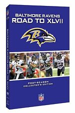 NFL Baltimore Ravens - Road to Super Bowl XLVII 47 4er [DVD] NEU Football