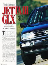 1994 Volkswagen Jetta III GLX - Classic Article D109