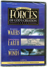 New The Awesome Forces of God's Creation 3 DVD set Gods