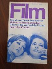 Film 1968 Stark Love Vatroslav Mimica French animation